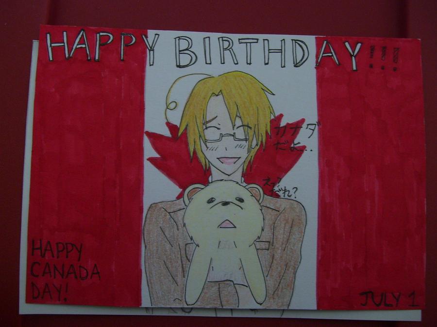 Aph canada birthday card by nightmare sanx on deviantart aph canada birthday card by nightmare sanx bookmarktalkfo Gallery