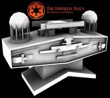 Star Destroyer Bridge WIP by VacuityMechanica