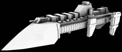Cobra Destroyer WIP 2