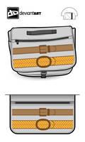 Belted Bag by garasidebu
