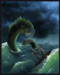 Sea Serpent [Commission]