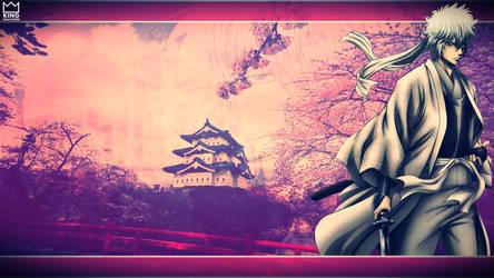 Gintoki Wallpaper - by @Kingwallpaper