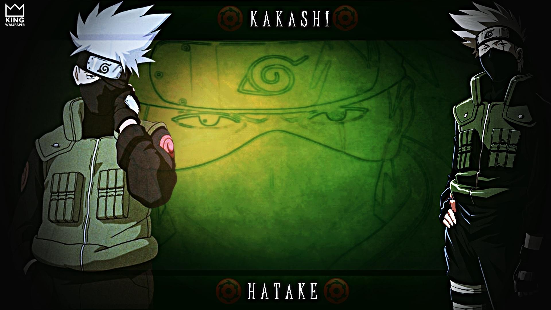 Kakashi Hatake Wallpaper - @Naruto by Kingwallpaper on DeviantArt