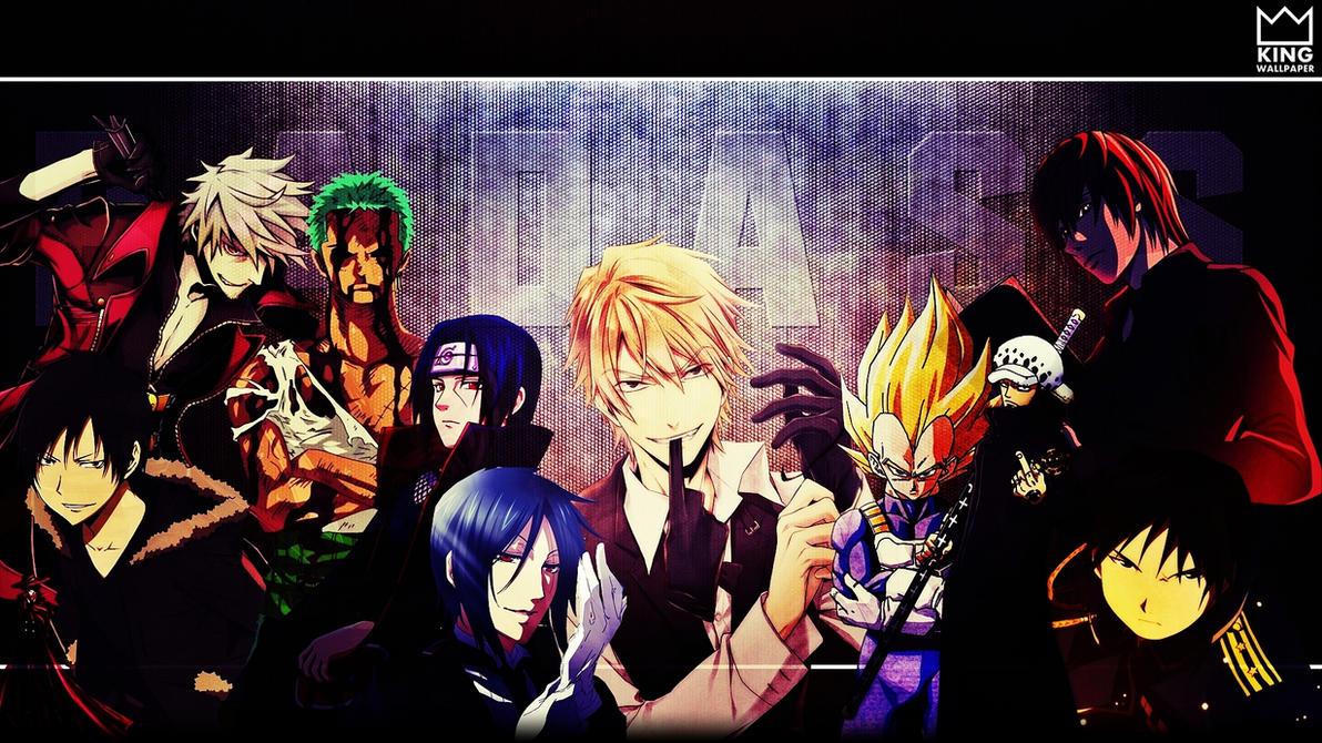 Most badass wallpaper by kingwallpaper on deviantart - Badass anime wallpaper ...