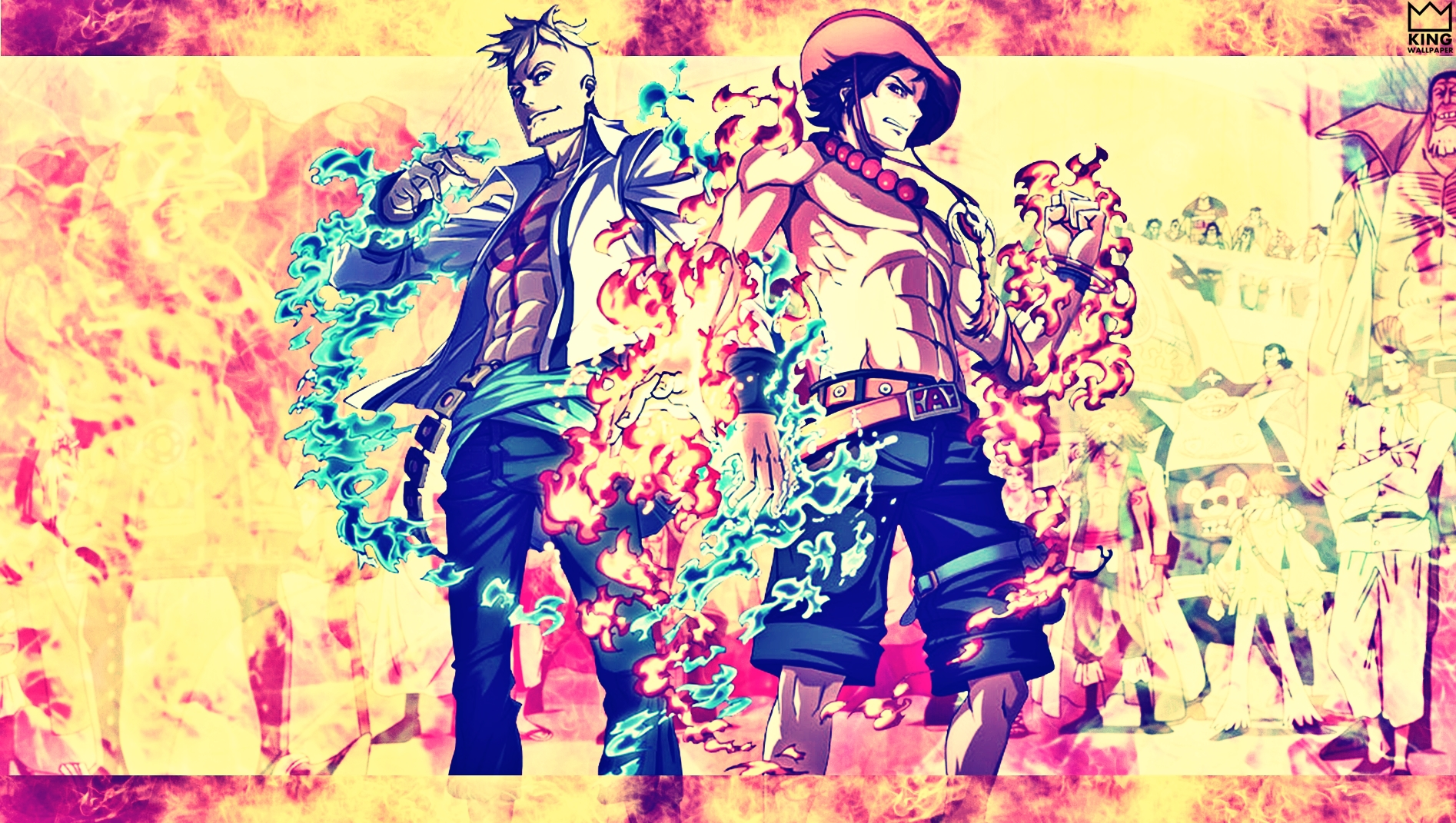 Marco Ace Wallpaper At One Piece By Kingwallpaper On