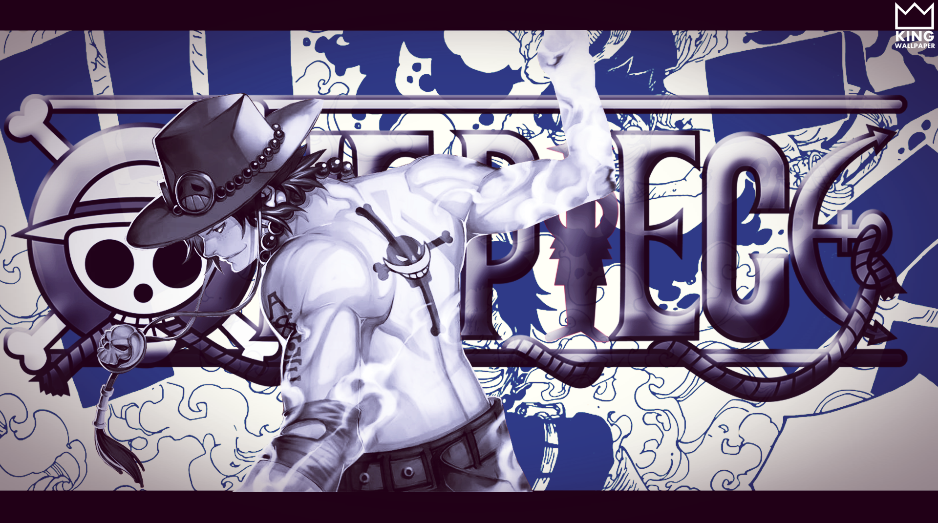 Portgas D.Ace Wallpaper - @One Piece by ...