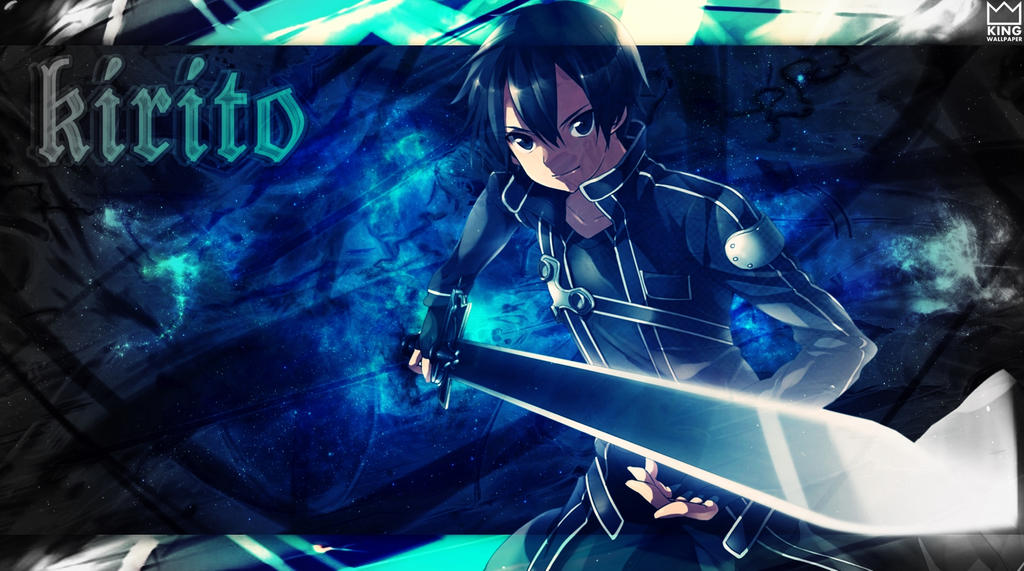 Kirito Wallpaper - @Sword Art Online by Kingwallpaper on ...