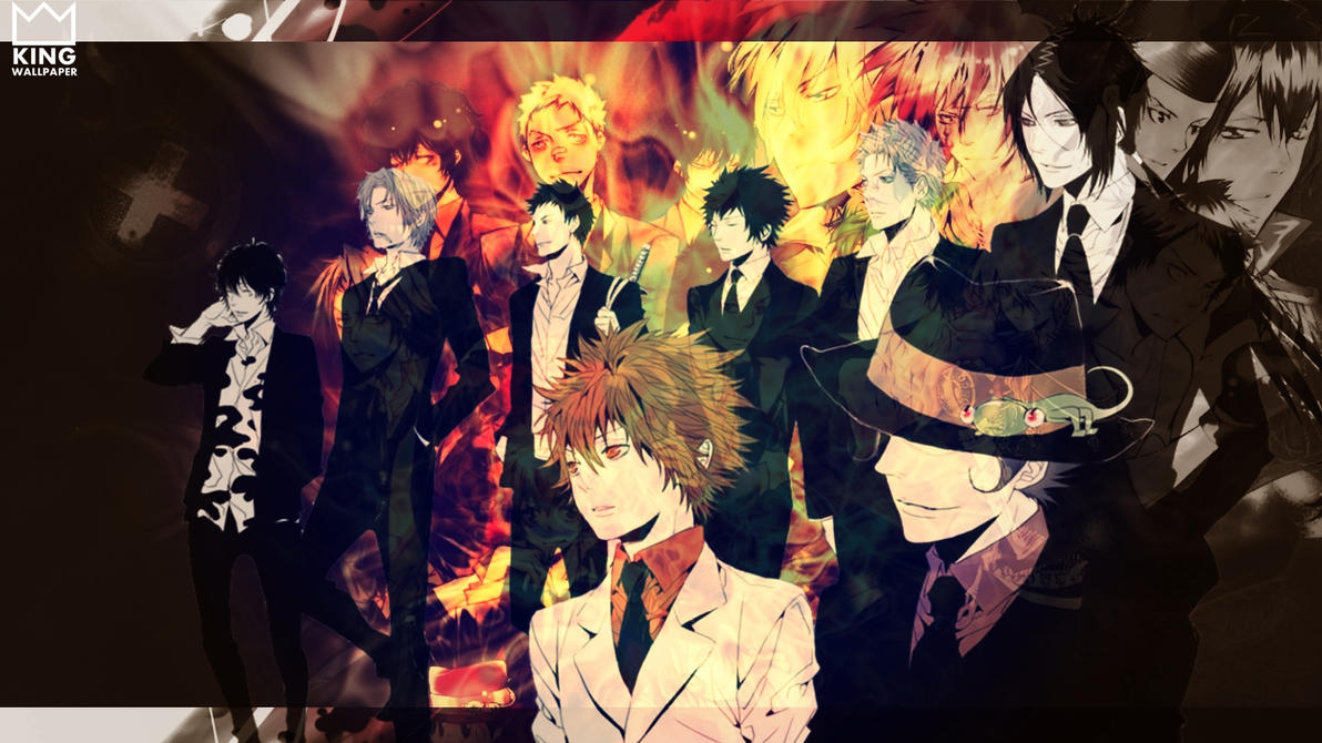 katekyo hitman reborn wallpaper by kingwallpaper on deviantart
