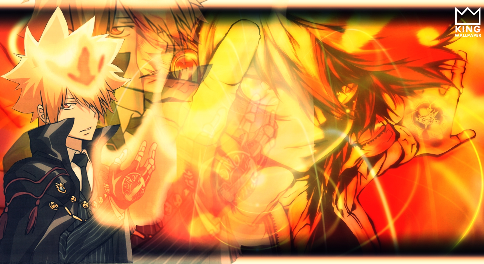 Tsuna Wallpaper Katekyo Hitman Reborn By Kingwallpaper On