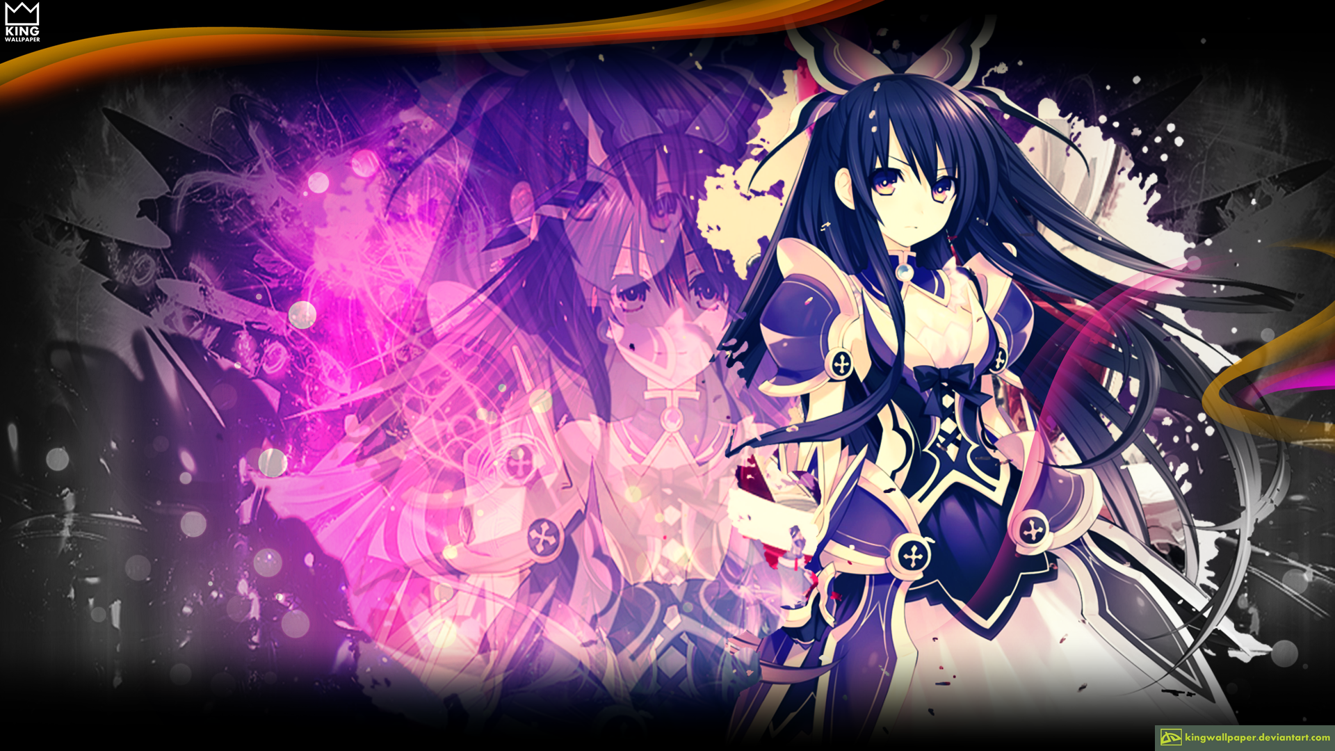 Tohka - @Date A live by Kingwallpaper on deviantART Date A Live Tohka Wallpaper