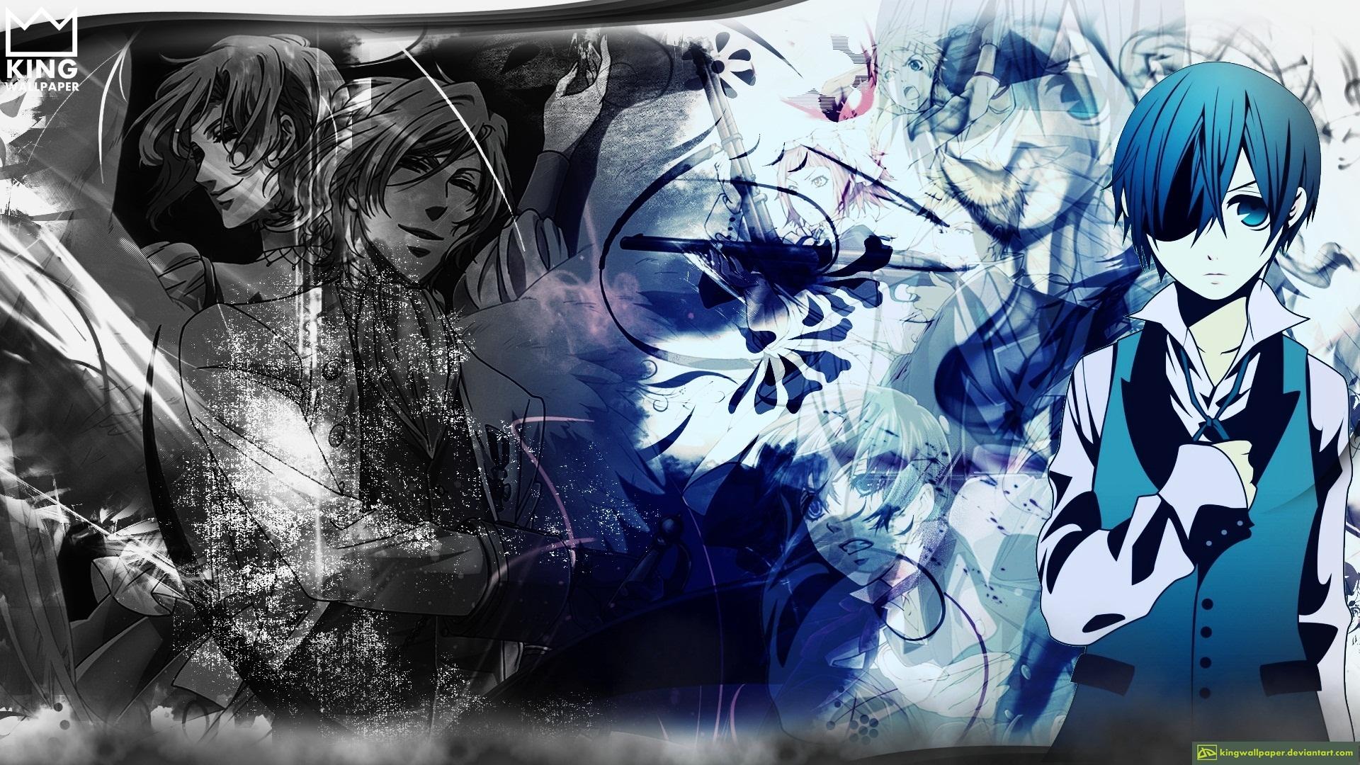 ciel wallpaper kuroshitsuji by kingwallpaper on deviantart