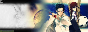 Steins Gate Cover Photo for Facebook