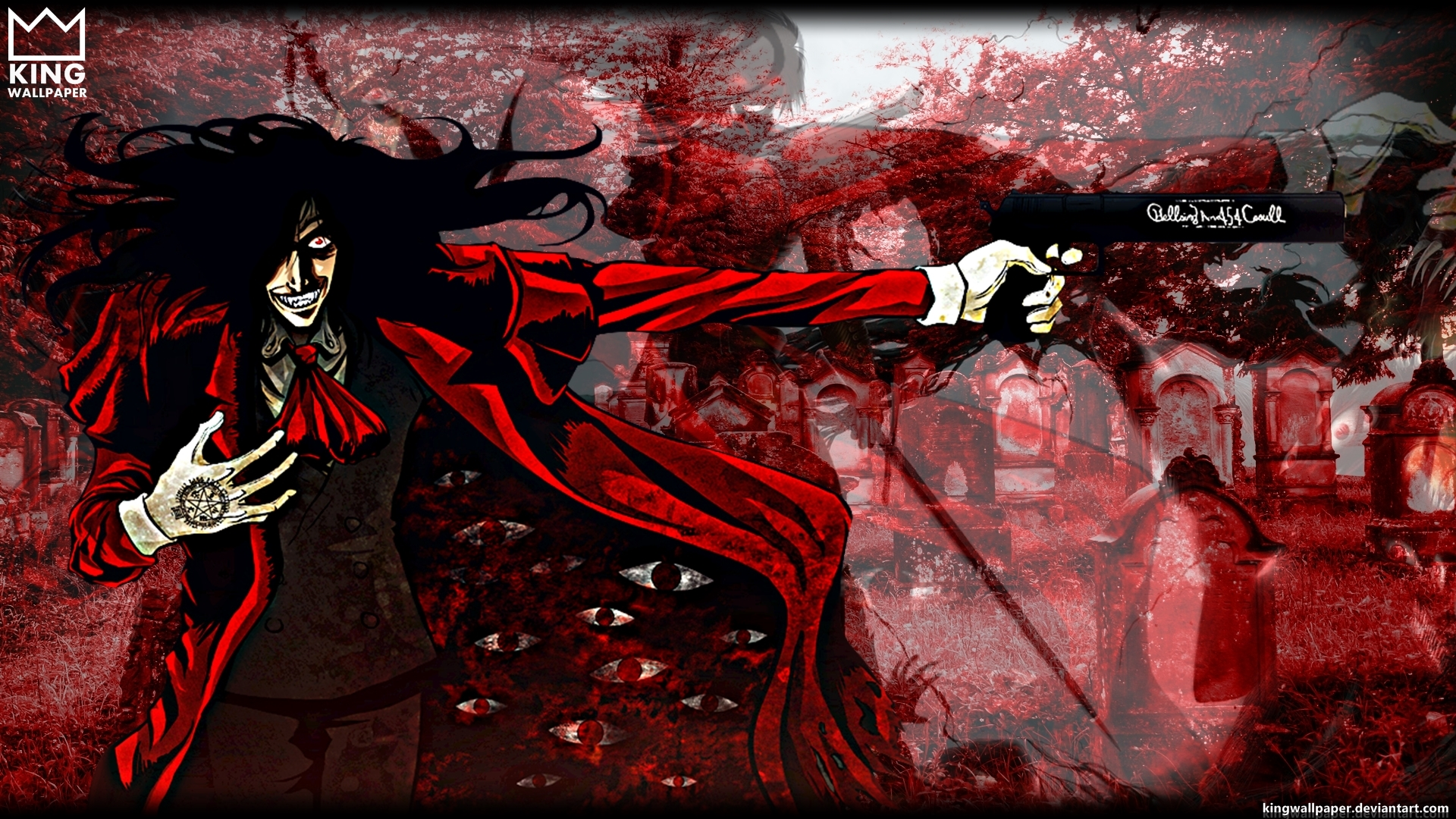 Hellsing wallpaper by kingwallpaper on deviantart - Anime hellsing wallpaper ...