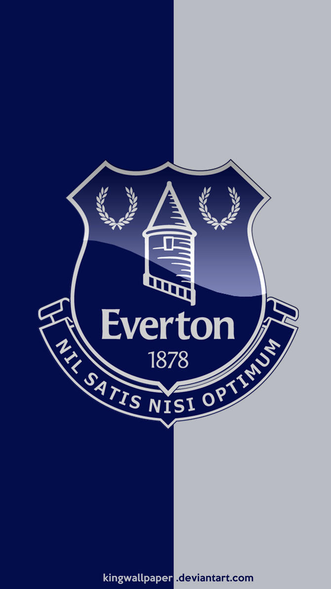 Everton Moblie Background By Kingwallpaper