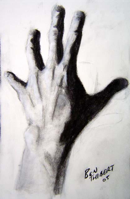 Reach Out Drawing