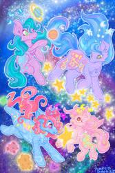 Fancy Swirl / Celestial Ponies