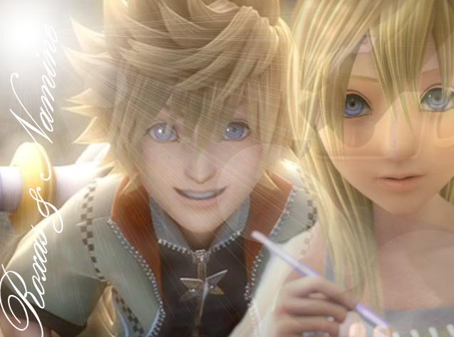 Roxas and Namine by Bleed-it-out-xx