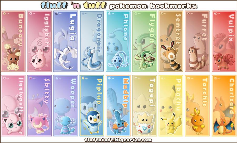 zerochan923600 270 85 pokemon bookmarks by fluffntuff