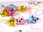 Luma charms in different color