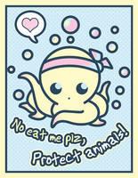 Squidy Card by Fluffntuff