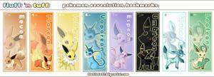 Eeveelution bookmarks