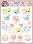 Nummie Sticker Sheet