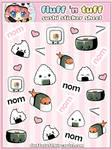 Sushi Sticker Sheet