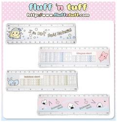 Cute Rulers! by Fluffntuff