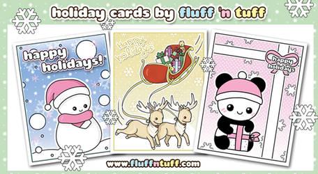 Christmas cards! by Fluffntuff