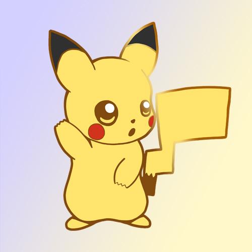 Pikachu hard enamel pin