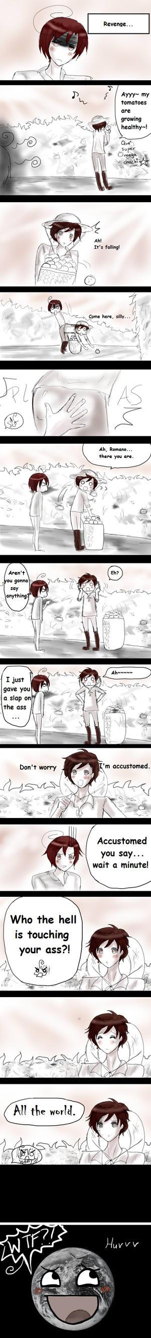Romano's revenge by Kaprikume