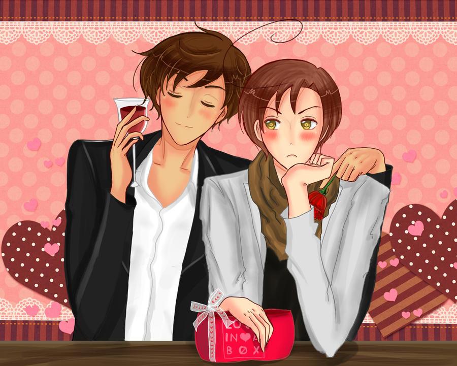 Happy Valentine day by Kaprikume
