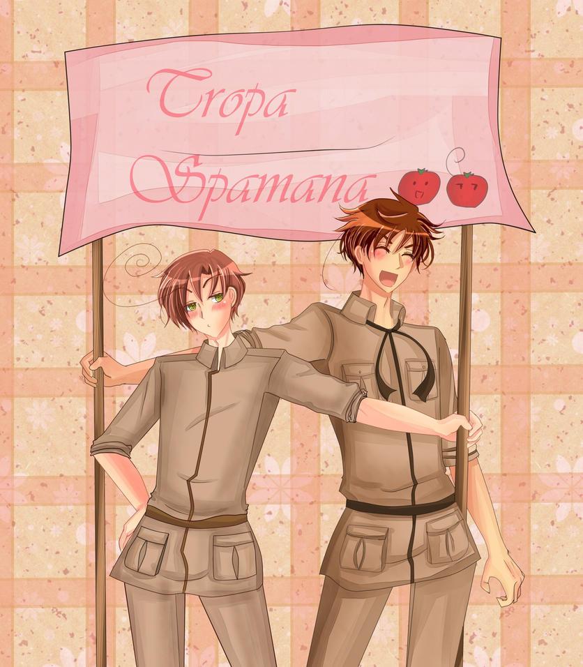 Tropa Spamana - HAPPY B-DAY JESS!! ovo by SonneDark
