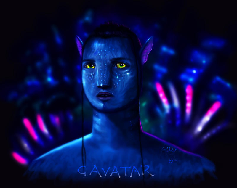 GAVATAR by gavwoodhouse