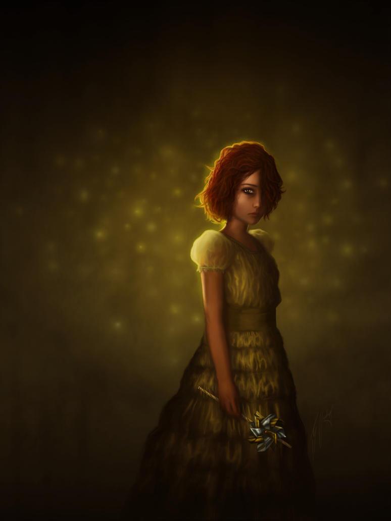 Yellow Girl by gavwoodhouse