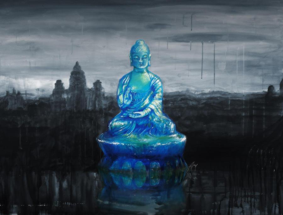Blue Budha by gavwoodhouse