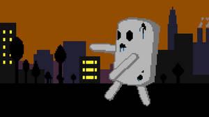 Zombie Marshmallow Robot Monster