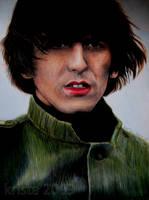 George Harrison by afiendishglee
