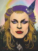 Brian Eno by afiendishglee