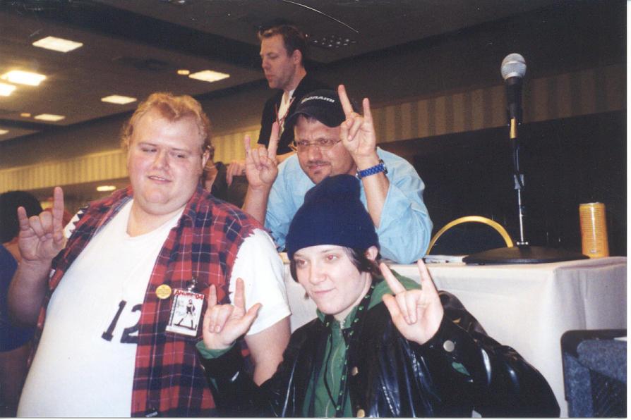 Coop, Jamie and Steve Blum by wordongear