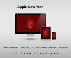 Apple New Year by Puzjaka