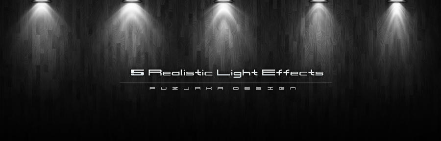 5 Realistic Light Effects By Puzjaka