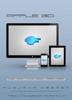 Apple 3D by Puzjaka