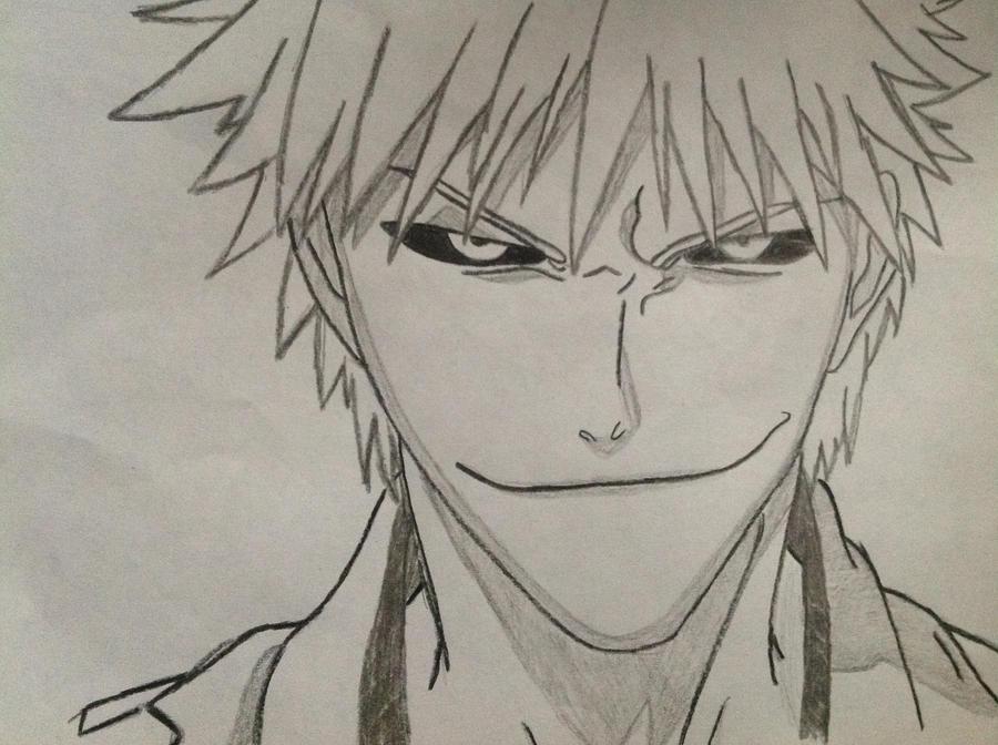 Hollow Ichigo Drawing By Freakyunicornkid7 On DeviantArt