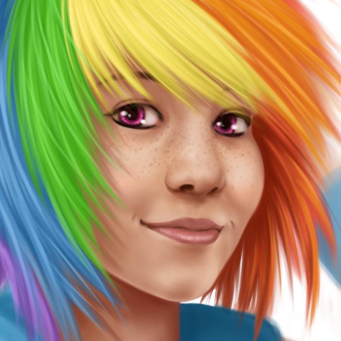 Rainbow Dash by Miirkat
