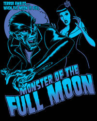 Full Moon Monster by zombie-you