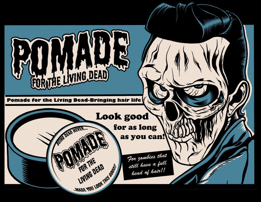 Zombie Pomade by zombie-you