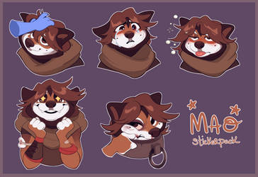Mao Stickers!!!! by miraclespout