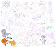 Patreon doodles 1