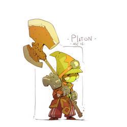 Platon - the warrior reptile boy